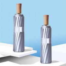 钛银16骨三折伞防晒遮阳伞小清新超强防晒防紫外线女可定制