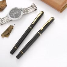 金属宝珠笔签字笔中性笔 特价供应印刷金属水性笔