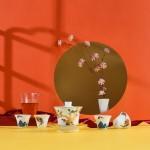 功夫茶具套装盖碗分茶器文创国潮中国风泡茶器