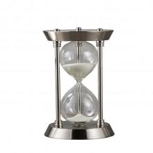 定制时间沙漏欧式金属沙漏摆件办公桌餐厅沙漏计时器玻璃工艺品
