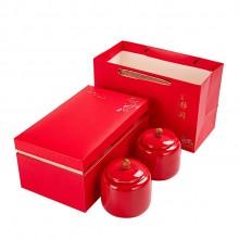 礼盒包装茶叶罐套装红枸杞红茶绿茶密封罐