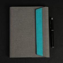 商务活页记事本布面pu商务本可企业定制创意时尚笔记本办公文具