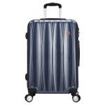 新品瑞士军刀 拉杆箱 24英寸PC材质多功能大容量行李箱万向轮