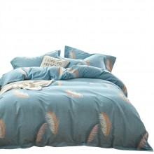 新品精棉磨毛四件套 床上用品秋冬季加厚婚庆四件套 年会礼品