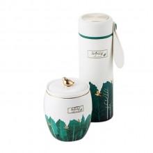 维拉雅致小鸟套装便携茶具商务套装logo定制