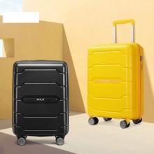 POLO 拉杆箱出差通勤时尚男女通用旅行箱大容量多功能万向轮行李箱08