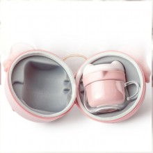 旅行快客杯玻璃便携茶具套装 可定制LOGO