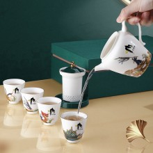 端午节伴手礼房地产银行茶具套装  三清山定制案例