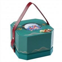 创意现货八角创意手提端午粽子包装盒6个装空盒定制LOGO礼盒