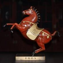 纯铜马到成功铜器摆件家居铜彩装饰工艺礼品