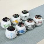 茶叶罐礼盒包装小号陶瓷密封罐创意节日礼品伴手礼定制logo礼品盒