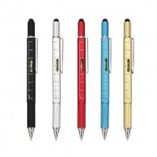 五合一多功能工具笔 刻度电容笔