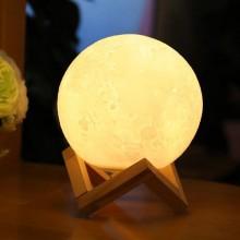 3D打印月球灯中秋伴手创意礼品