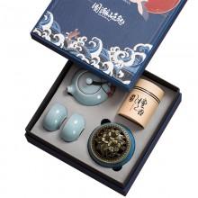 国潮礼盒中国风复古文创中秋节陶瓷茶具礼品套装