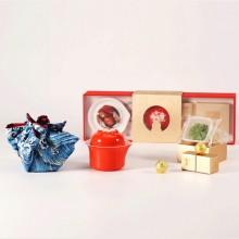 中秋礼盒·吉祥尊享茶具月饼组合礼盒套装 可定制logo