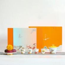 中秋礼品秋月霓裳茶具礼盒商务套装礼盒 可定制logo