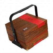 茶饼包装盒空盒双层提篮通版200克357克普洱茶饼礼盒包装定制