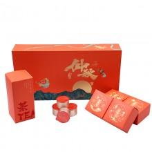 舞月仲秋月饼茶叶组合可定制企业LOGO