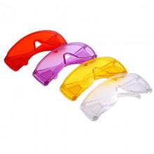 百叶窗透明潮流防护眼镜防疫防飞沫墨镜户外防化学实验电焊护目镜