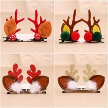 圣诞节儿童小礼品礼物发卡套装头饰