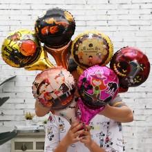 万圣节18寸爱心气球