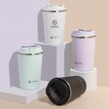 陶瓷内胆保温杯简约大容量水杯便携随身咖啡杯